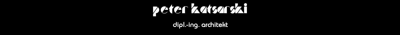 Architekturbüro Peter Katsarski